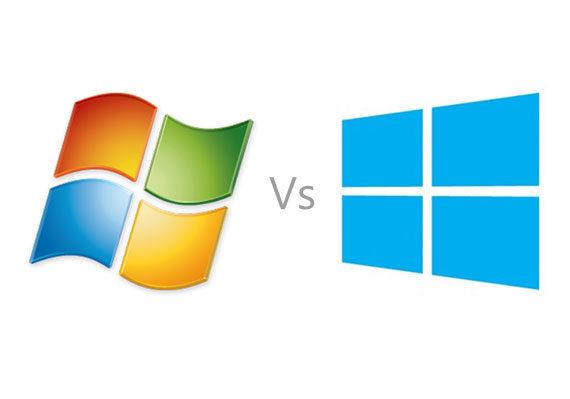 Windows 7 versus Windows 8