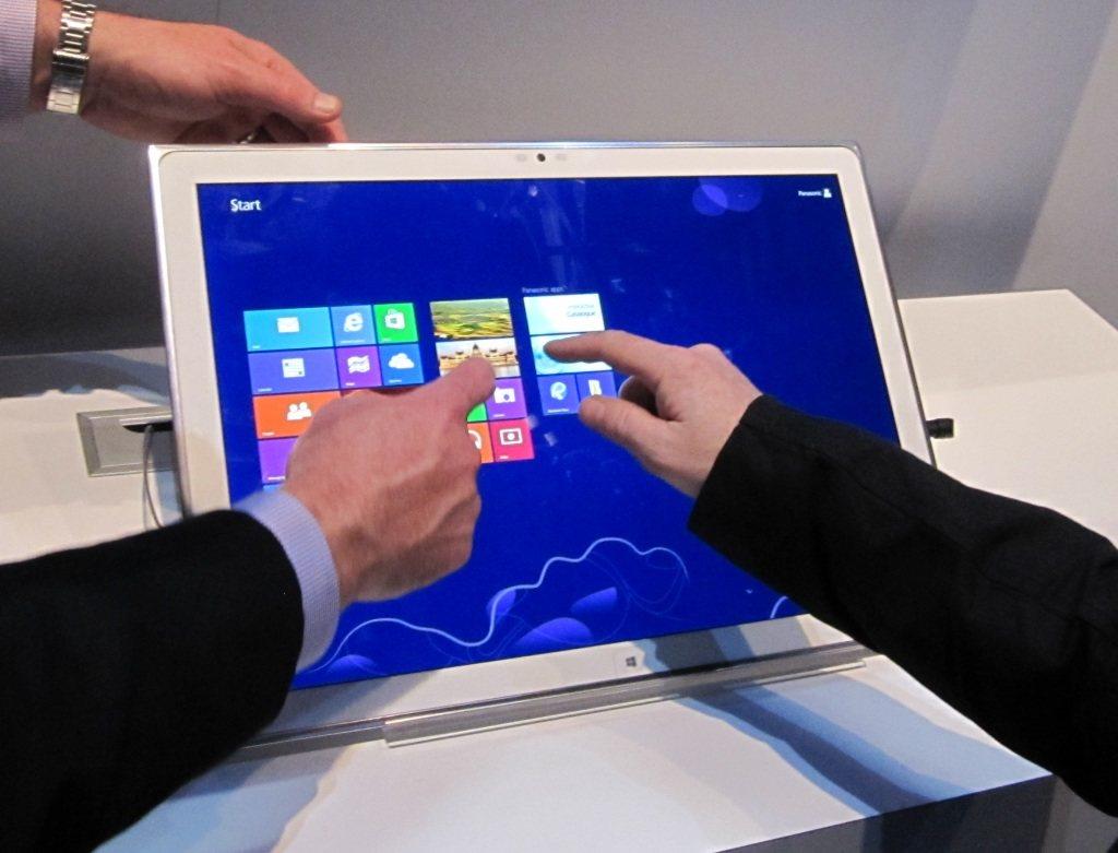 La gigantesca tablet 4K de Panasonic