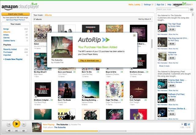 AutoRip: Amazon y sus MP3 gratis