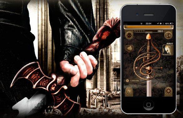 TheOne: Convierte tu móvil en una espada imaginaria