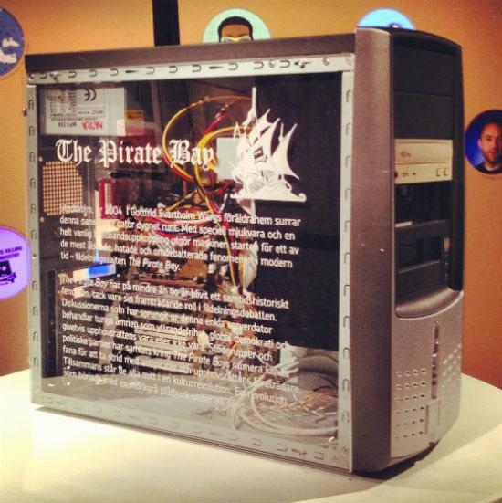 El primer servidor de The Pirate Bay llega al museo