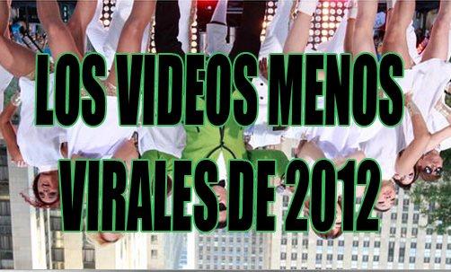 Los videos menos virales de 2012
