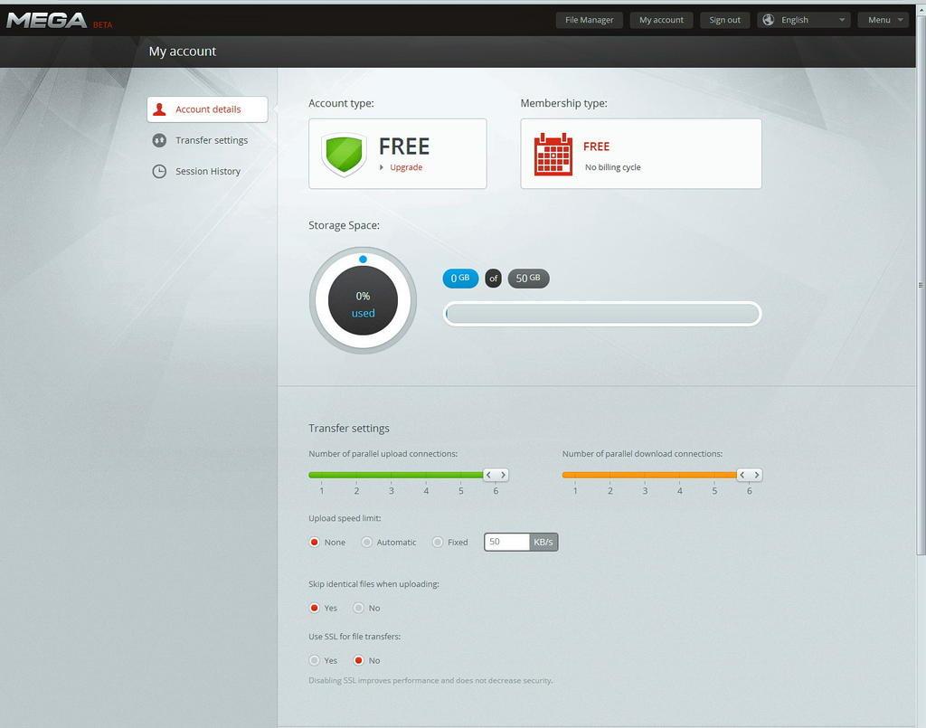 MEGA: El sucesor de Megaupload tendrá 50GB de almacenamiento gratuito