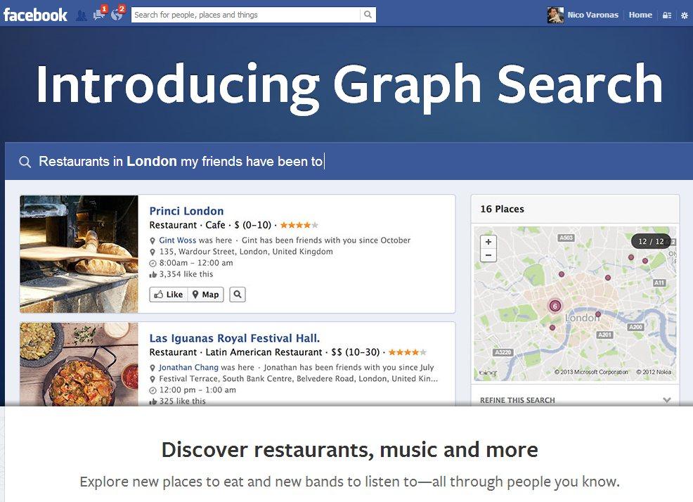 Graph Search: El motor de búsquedas interno de Facebook
