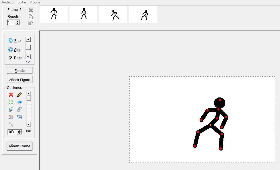 Crea animaciones con figuras de palo
