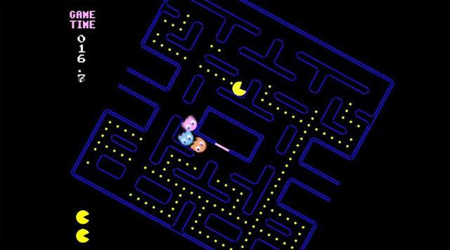 Not Pacman: Pacman afectado por la gravedad (juego gratis)