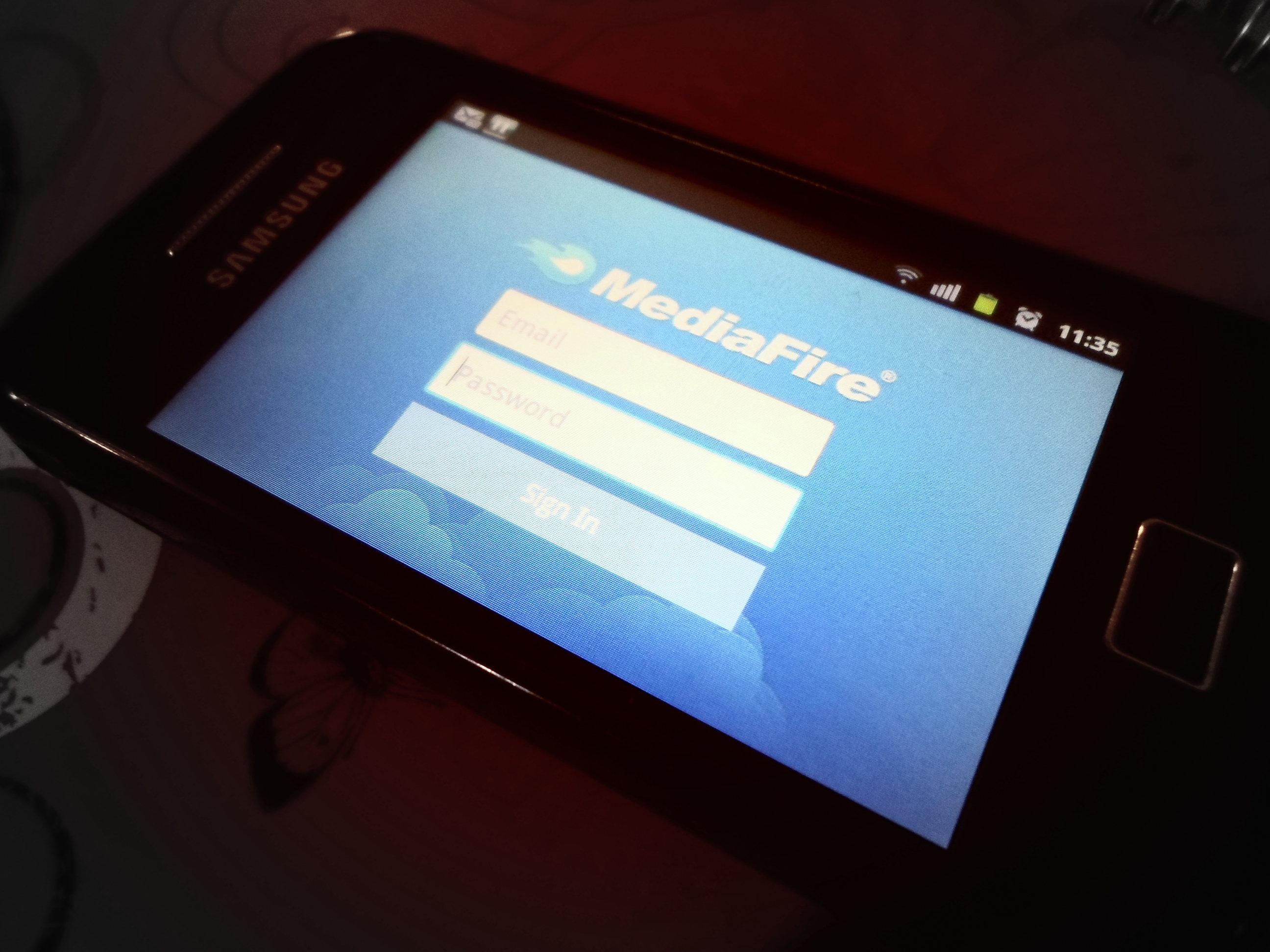 La aplicación de MediaFire ya llegó a Android