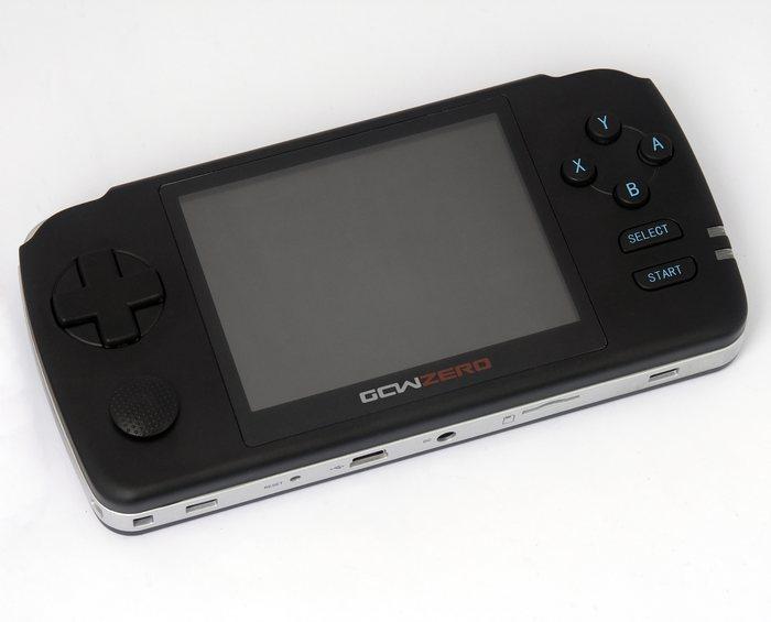 GCW Zero: Consola portátil de código abierto