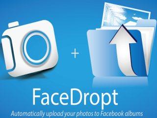 FaceDropt: Envía todas tus fotos a Facebook en segundos