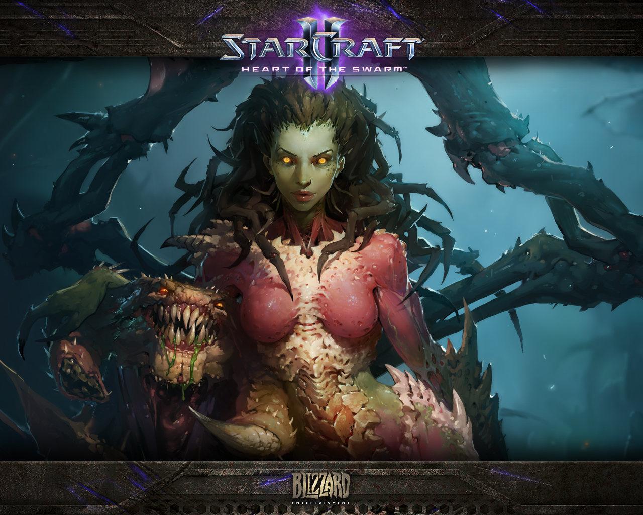 StarCraft II: Heart of the Swarm – La introducción (vídeo)