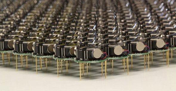 Kilobots: Los mini robots de Harvard en acción (vídeos)