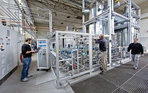 SolarFuel: Combustible a partir de energía solar y eólica
