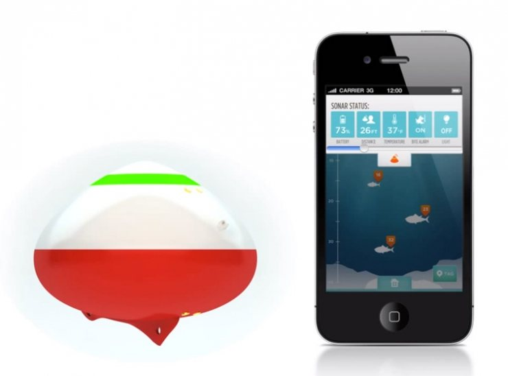 Reelsonar: Kit para pescar con tu smartphone
