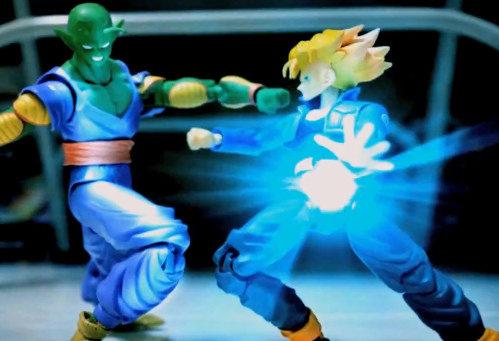 Dragon Ball Z Stop Motion - Piccolo VS Trunks (vídeo)