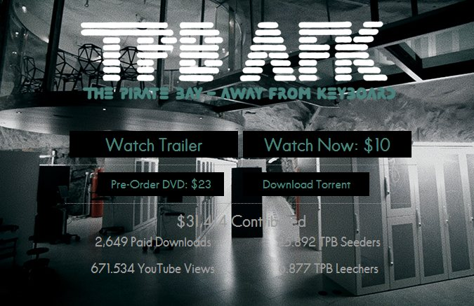 The Pirate Bay: Away From Keyboard (documental online)