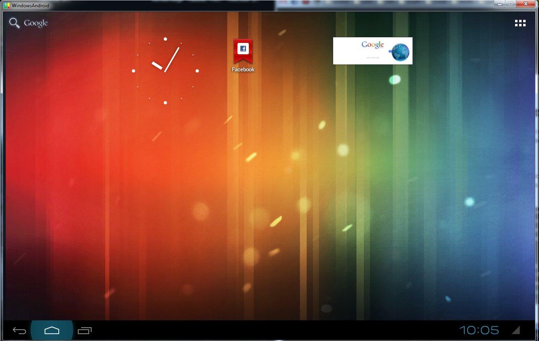 WindowsAndroid: Android en Windows