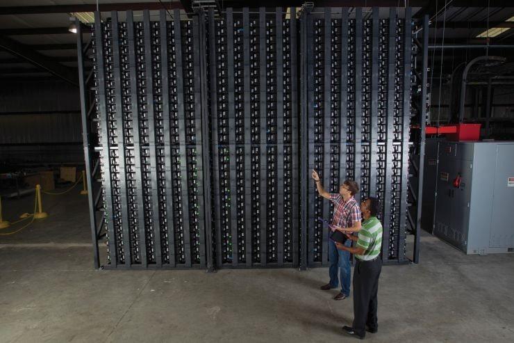 La batería más grande del mundo