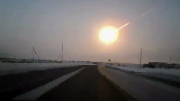 Cayó un meteorito en Rusia (vídeos)