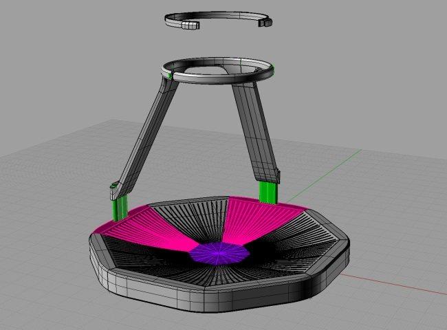 Virtuix Omni: Caminadora omnidireccional para realidad virtual (vídeo)
