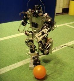 DARwIn, el primer Americano inscripto en la RoboCup 2007