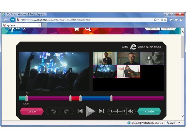 Vyclone lanza editor de vídeo en navegadores web