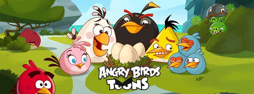 Angry Birds Toons: La serie animada de Angry Birds