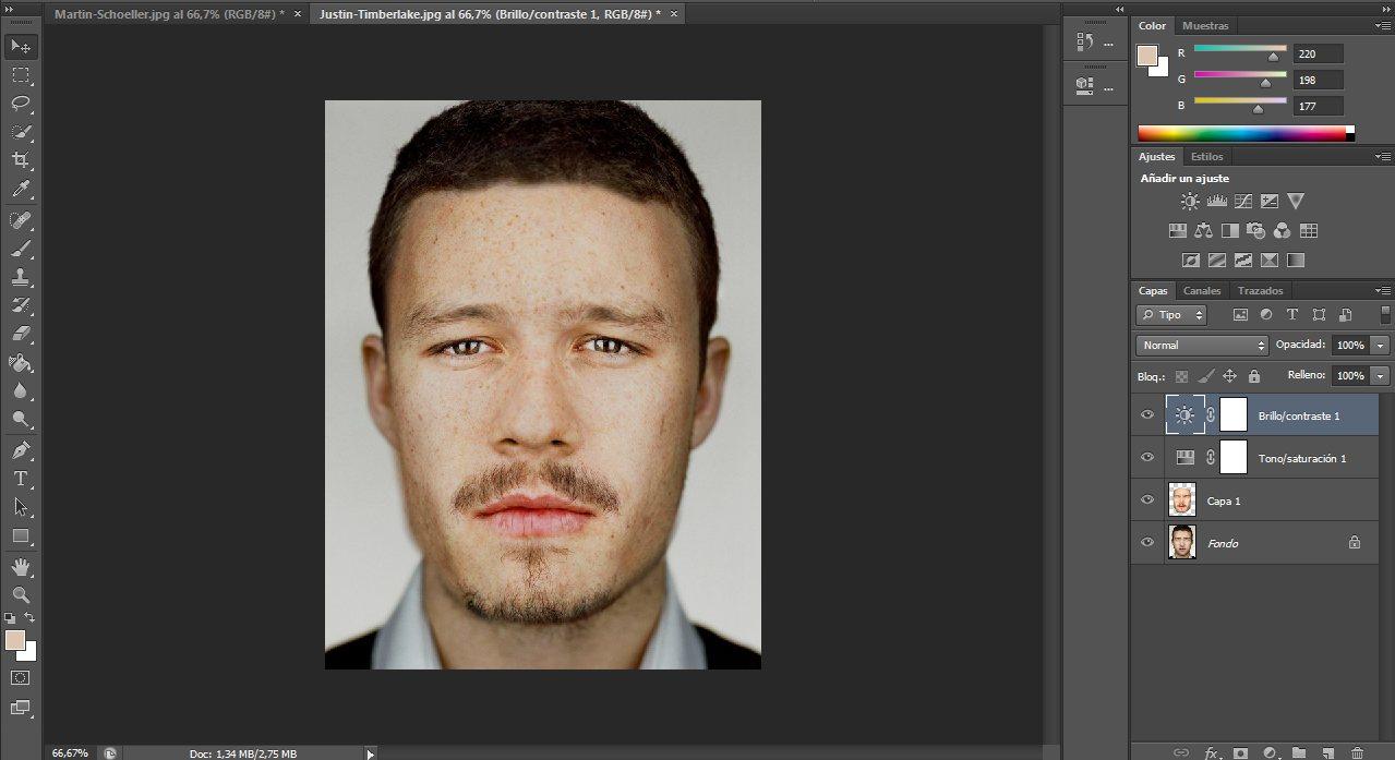 Cómo cambiar un rostro en Photoshop CS6