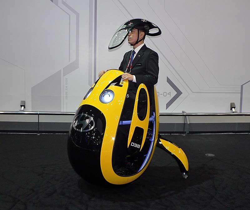 """E4U: El nuevo """"huevo-móvil"""" de Hyundai"""