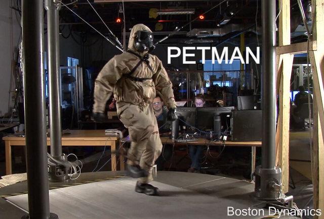 PETMAN: El robot de Boston Dinamics más inquietante que nunca (vídeo)