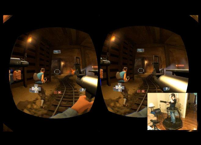 Team Fortress 2 con Oculus Rift y Omni (vídeo)