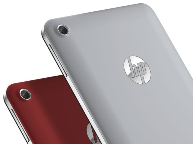 Hewlett-Packard lanza a su tablet Slate 7