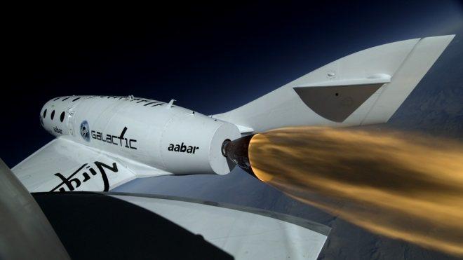 SpaceShipTwo: Su primer vuelo propulsado (vídeo)
