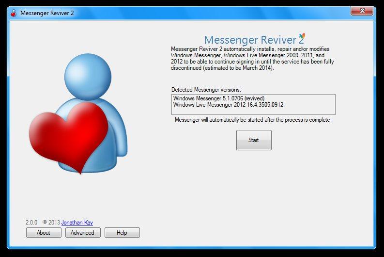 Messenger Reviver: Vuelve a usar Windows Live Messenger