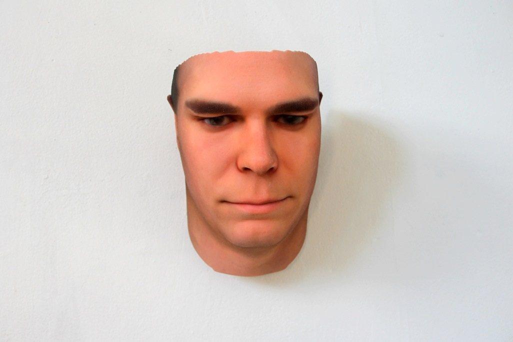 Retratos de rostros en 3D a partir de ADN de desconocidos