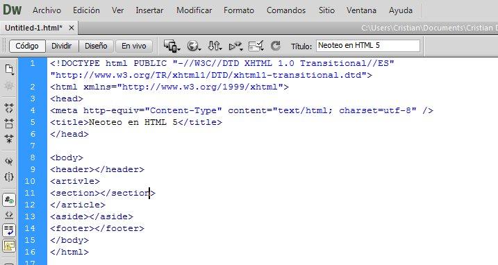 HTML5 - Curso básico de HTML 5 y CSS (I)