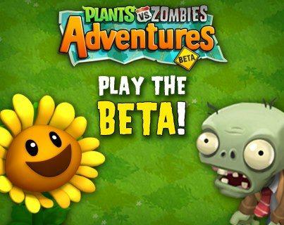 Plants vs. Zombies Adventures en Facebook