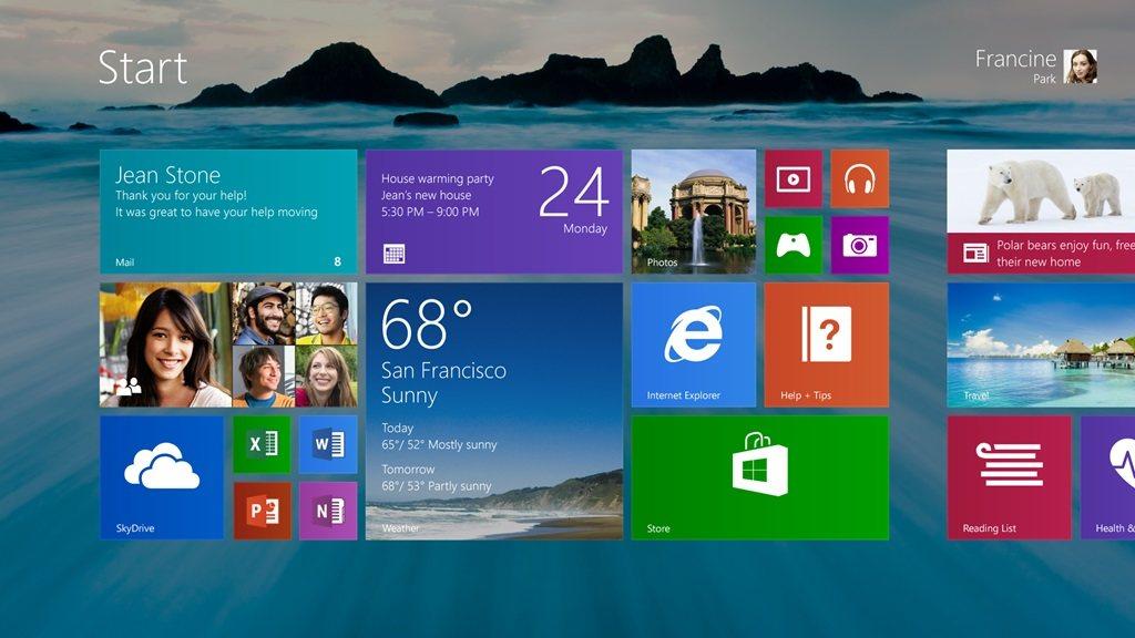 Las mejoras de Windows 8.1