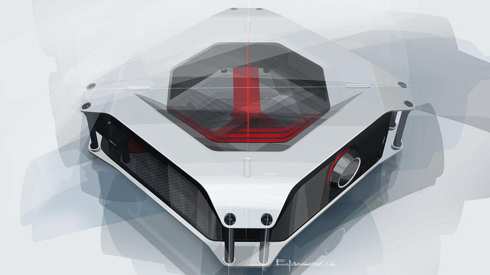 El ordenador de BMW (concepto)