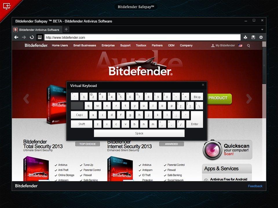 Bitdefender Safepay: Navegador seguro para transacciones en línea