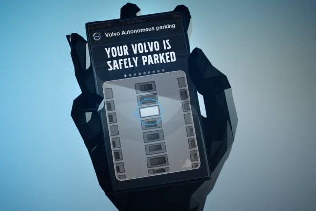 Volvo quiere coches que se estacionen solos