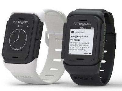 Kreyos Meteor: Reloj inteligente con control gestual y de voz