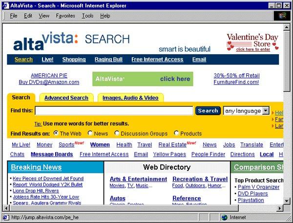 El final de AltaVista.com