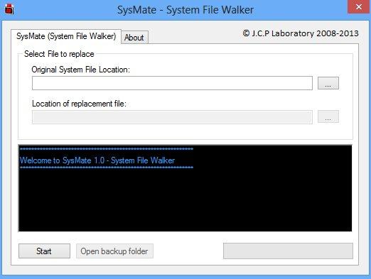 Modificar o sustituir archivos del sistema (DLL)