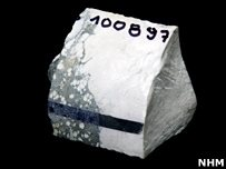 """Descubren mineral similar a la """"Kriptonita""""."""