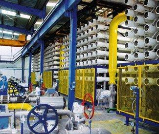 Desalinización de agua de mar en España