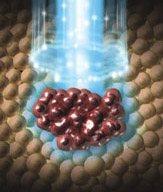 Atacando tumores con antimateria