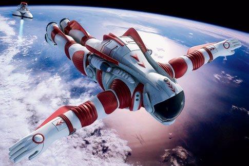 Deporte extremo: Saltar desde el espacio exterior.