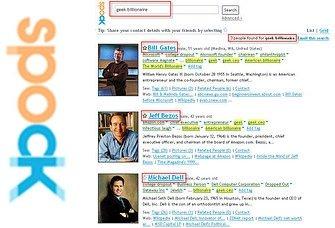Spock.com, busca a cualquier persona en Internet