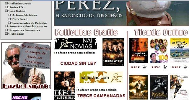 Videoclub Online: Descarga películas gratis legalmente