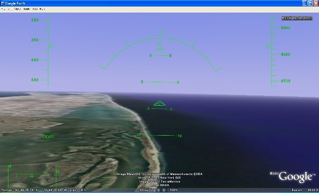 Google Earth Flight Simulator, un simulador de vuelo en Google Earth